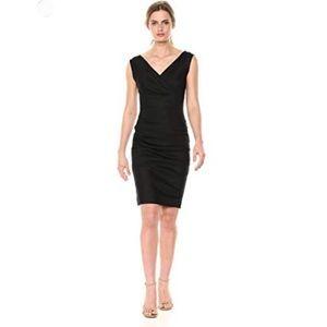 Nicole Miller Linen stretch dress